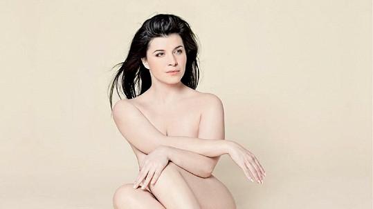 Andrea Kalivodová se fotila v rouše Evině.