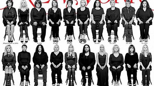 Všechny tyto ženy měl v minulosti zneužít Bill Cosby.