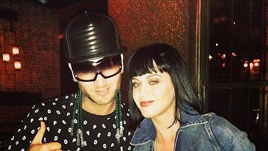 Katy Perry se svým novým objevem