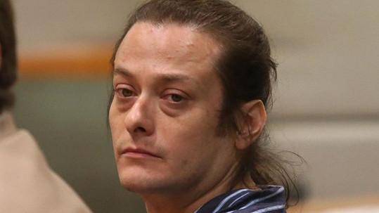 Edward Furlong během soudního procesu.