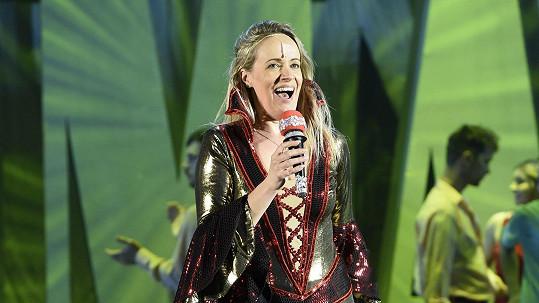 Alena Antalová v muzikálu Mamma Mia!