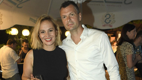 Monika s dnes již bývalým partnerem Tomášem Hornou