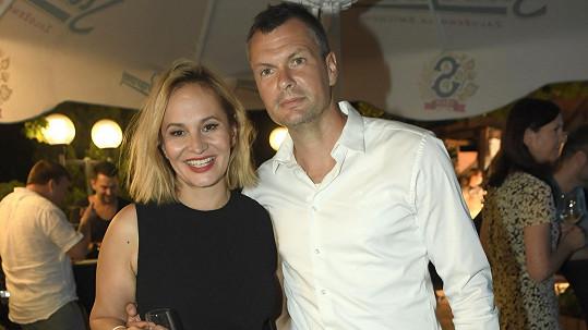 Monika Absolonová s přítelem Tomášem