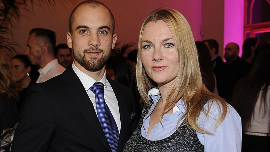 Karla Mráčková a její syn Nikola