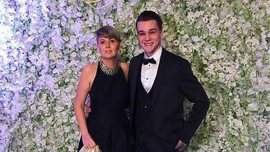 Mikolas se svou maminkou