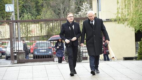 Syn Ondřej Havelka přišel s Jaroslavem Satoranským.