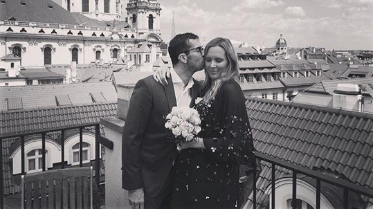 Radek a Nicole se vzali.