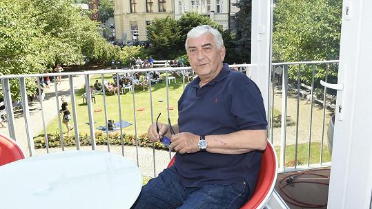 Miroslav Donutil na karlovarském filmovém festivalu představil nový seriál.