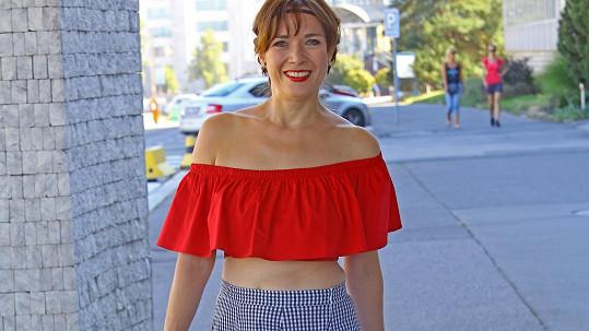 Tereza Kostková vypadá skvěle.