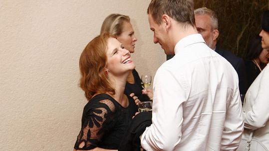 Kristýna Nováková s nyní již manželem Viktorem