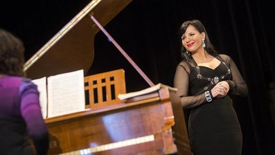 Andrea Kalivodová se nebrání ani vyučování zpěvu.