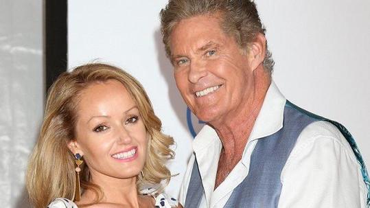 Hasselhoff a jeho mladá snoubenka