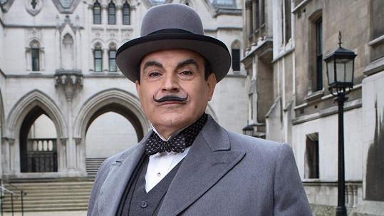 David Suchet jako legendární Hercule Poirot