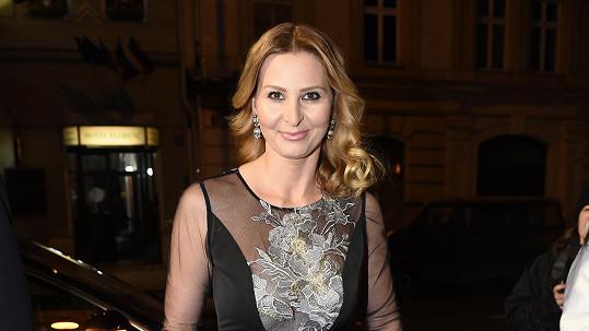 Ivana Gottová zářila na Českém slavíku v nádherné róbě.