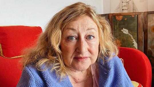 Halina Pawlowská bez líčidel