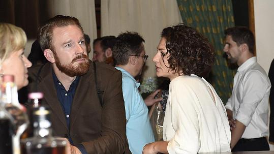 Stanislav Majer s přítelkyní Adrianou