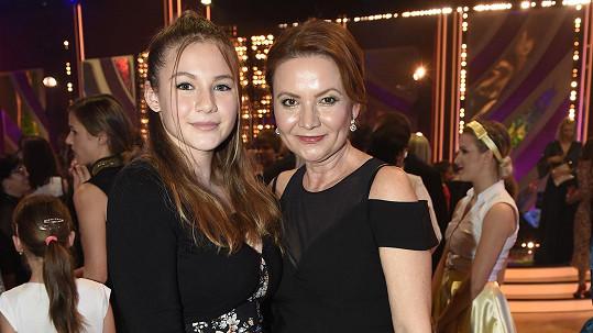 Moderátorka s dcerou Kačenkou