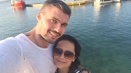 Lucie Bílá a Radek Filipi se loni rozešli, ale opět k sobě mají velmi blízko.