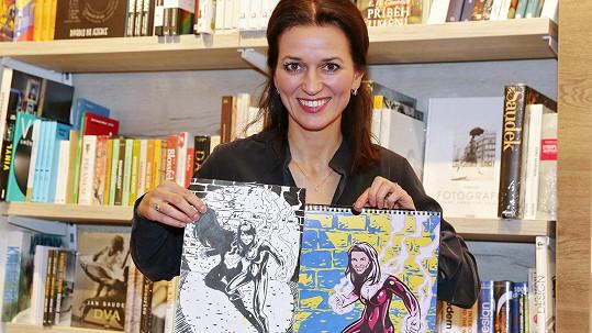 Adéla Gondíková a její komiksová podoba