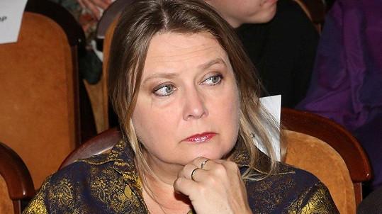 Kateřina Lojdová na premiéře snímku Kolo zázraků