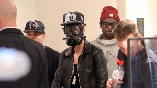 Justin Bieber v Londýně.