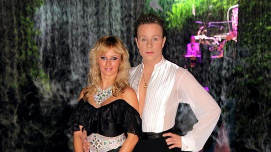 Honza Onder a jeho přítelkyně Lucie se do nového roku protančili...
