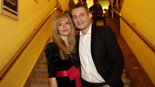 Lucie Černíková s Vladimírem Hronem