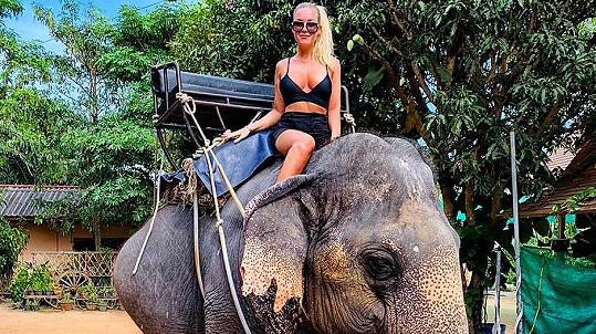 Dominika Myslivcová svým příspěvkem z dovolené vzbudila rozruch.