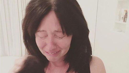 Shannen Doherty zveřejnila smutnou fotku z období své léčby.