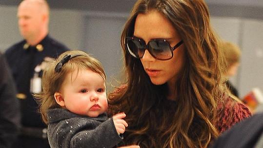 Victoria Beckham s malou Harper.