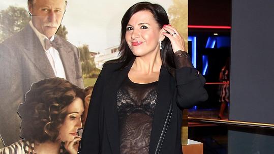 Andrea Kalivodová v odvážném outfitu