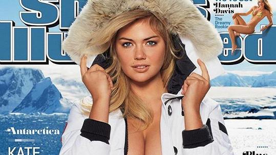 Sexy Kate Upton na obálce magazínu Sports Illustrated.