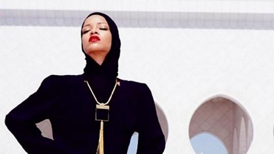 Rihanna nebyla vítaným hostem.