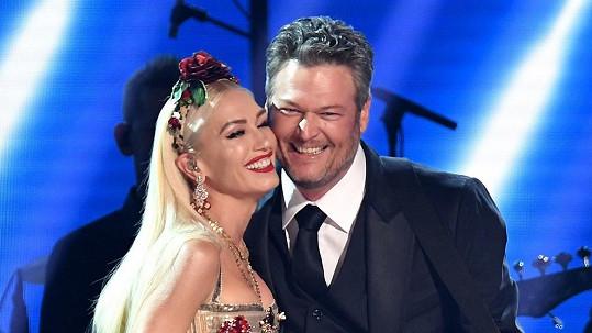 Gwen Stefani a Blake Shelton