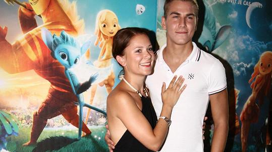Ivana Korolová s Davidem Gránským