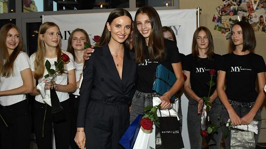 Anna Bicanová zvítězila v modelingové soutěži.