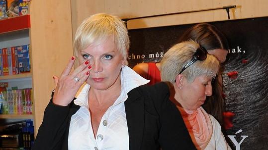 Kateřina Kornová už není jako kost a kůže.
