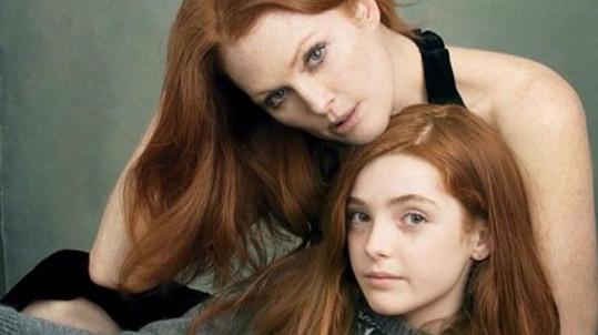 Julianne Moore a její dcera Liv Freundlich