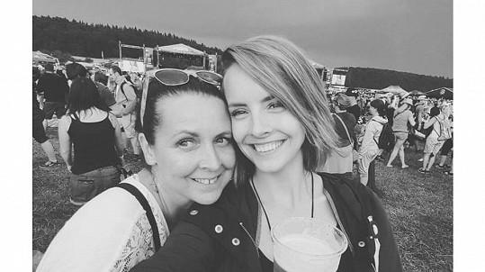 Gabriela Lašková s maminkou