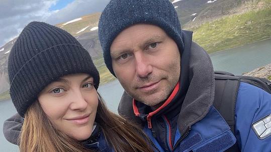 Kateřina s přítelem Michalem