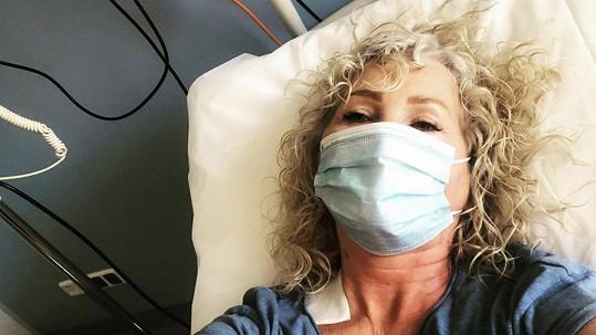 Světlana Nálepková skončila v nemocnici na kapačkách.