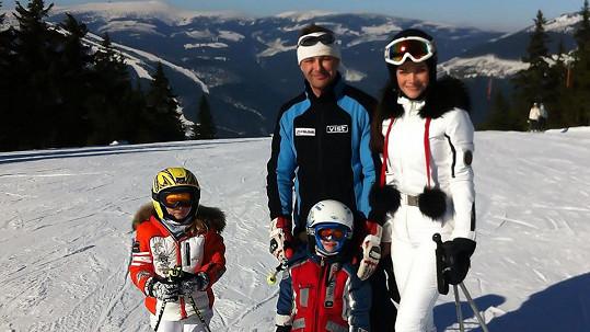 Andrea Verešová se na horách zranila.