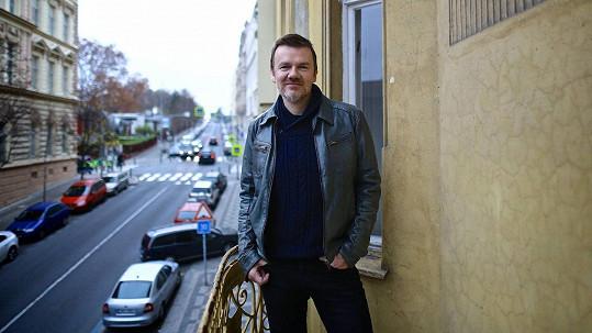 Michal Hrůza už znovu zkouší s kapelou.