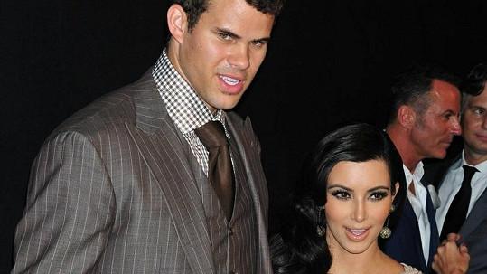 Exmanželé Kim Kardashian a Kris Humphries.