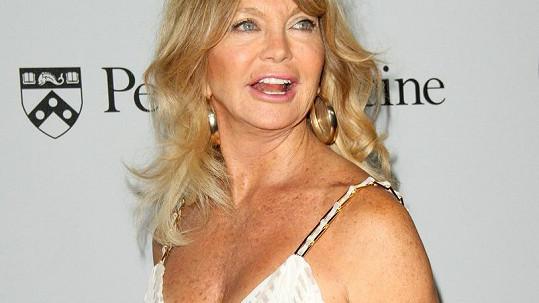 Goldie Hawn na oslavě založení institutu na výzkum rakoviny