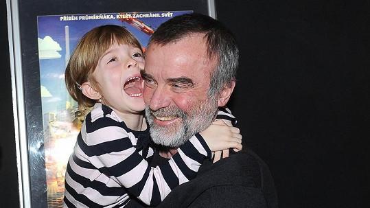 Jaroslav Brabec s dcerou Aničkou