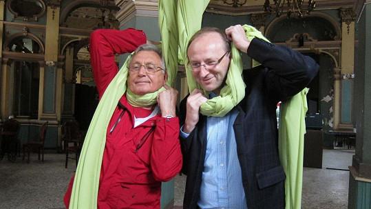 Jiří Menzel a diplomat Jiří Šitler