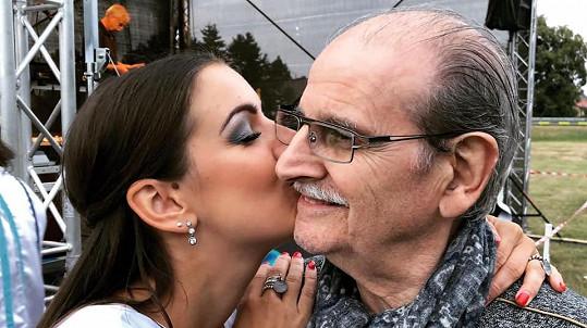 Genny Ciatti s milovaným tatínkem