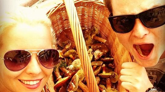 Katka Kristelová je výborná houbařka.