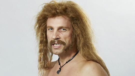 Roman Vojtek jako James Hetfield z kapely Metallica.